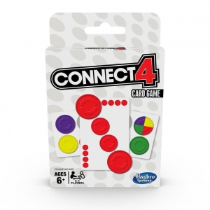 CONNECT 4 gra karciana - Hasbro