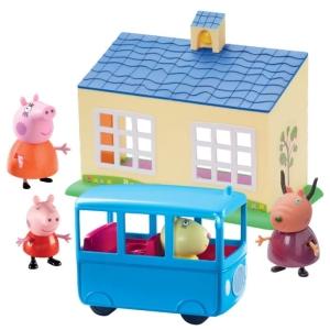 Świnka Peppa Szkolny autobus INNE FIGURKI ⭐ zabawki dla dzieci